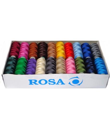 Set ate de cusut ROSA mixt 40 pcs