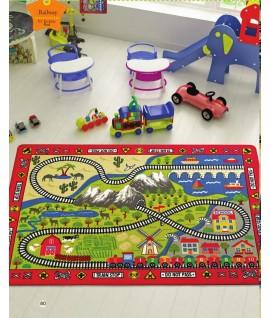 Covor Copii Trenulet  - multi dimensiuni