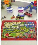 Covor Copii Railway  - multi dimensiuni
