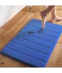 Covor Memory Foam Albastru - 50x70 cm
