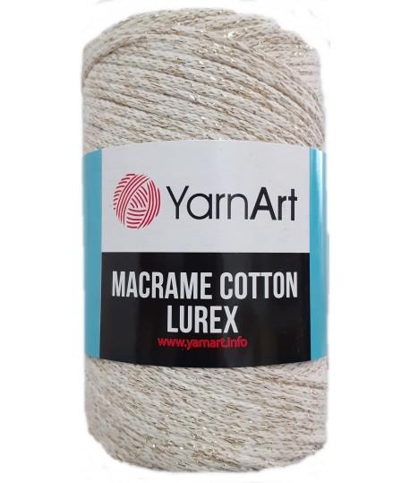 Macrame Cotton Lurex 724