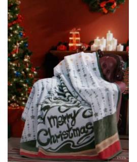 Patura Xmas Mery Christmas - 180x220 cm