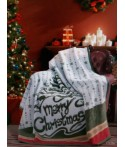 Patura Craciun - Mery Christmas - 180x220 cm