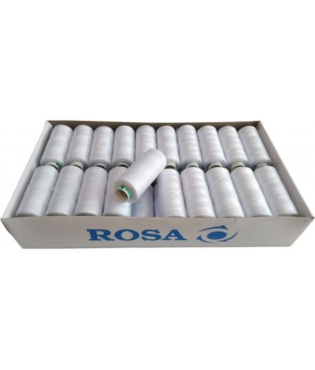 Set ate cusut ROSA  alb 40 pcs