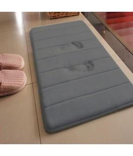 Covor Memory Foam Gri - 50x70 cm