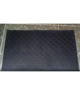 Covor intrare 3D rectangular mov - 45x75 cm