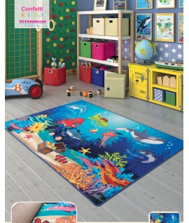 Covor Copii Oceanarium  - multi dimensiuni