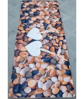 Covor Brillant Brown Stone - 60x135 cm