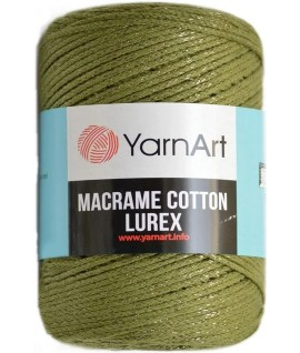 Macrame Cotton Lurex 741
