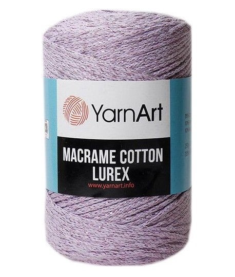 Macrame Cotton Lurex 734
