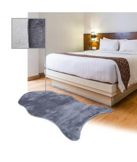 Covor Shaggy Blanita Decupat Gri - 100x150 cm